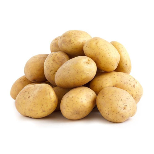 washed white potatoes